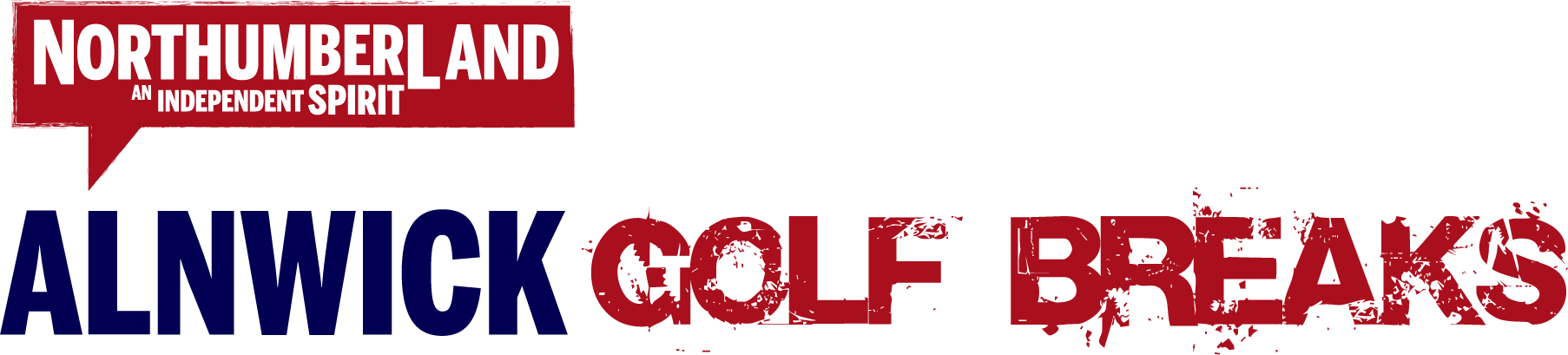 Alnwick Golf Breaks Logo
